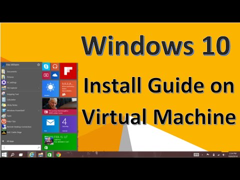 How To Install Windows 10 on a Virtual Machine