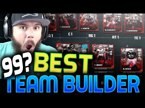 Madden 17 Ultimate Team!! BUILDING THE BEST TEAM POSSIBLE WITH CHEMISTRY