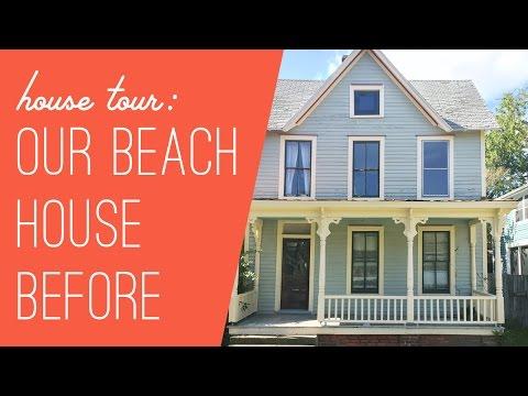 Beach House Tour: The Before