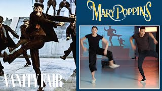 Choreographers Break Down a Mary Poppins Dance Scene | Movies in Motion | Vanity Fair