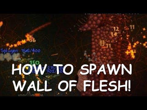 Terraria - Wall Of Flesh Spawn Guide (+PwnHammer)