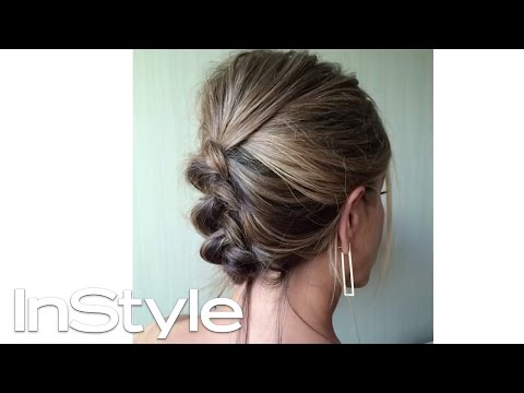 How to Get Jennifer Aniston's Braided Updo | InStyle