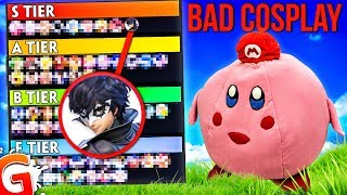Smash Bros Ultimate Tier List.. But it's Based on BAD COSPLAY