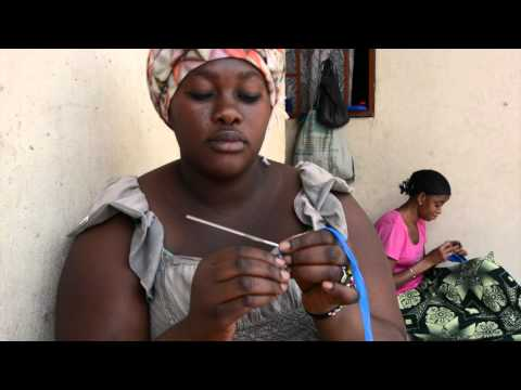 Making Purses from Recycled Bags by Video Griot