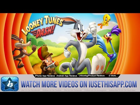 Looney Tunes Dash iPhone App Review - Looney Tunes Dash Game