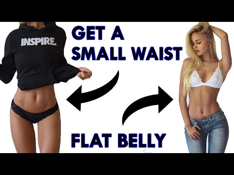 ❤️ How To Get A Small Waist and Flat Stomach