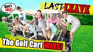 Download Last To LEAVE The GOLF CART Limousine WINS BIG! With The Ohana Adventure! Video