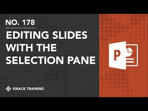 Editing with the Selection Pane in PowerPoint | Everyday Office 068