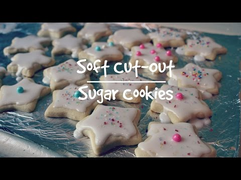 Soft Cut-Out Sugar Cookies| Lilybelle Morris