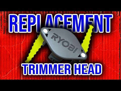 Ryobi Dual Bladed Trimmer Head. Review and Install.