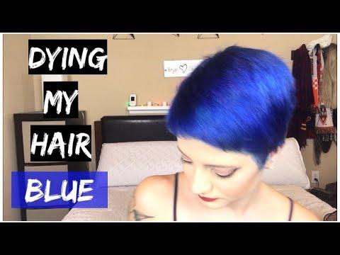 Dying My Hair Blue | Arctic Fox Poseidon 💙