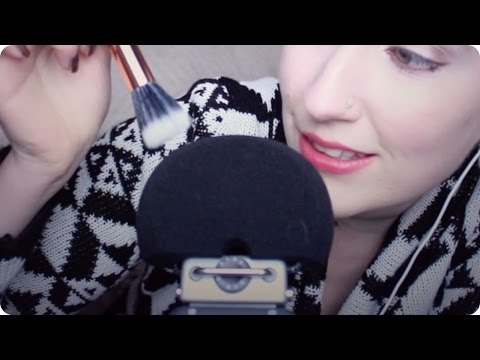 ASMR Microphone Brushing & Scratching w/ Breathy Whispers & Tapping (Relaxation)