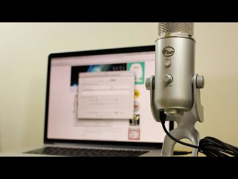 Blue Yeti Microphone - Installation Tutorial