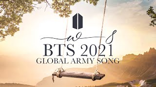 """2021 Global ARMY Song """"W8"""" Official MV- Gracie Ranan ft. ARMY ( TURN ON CC)"""