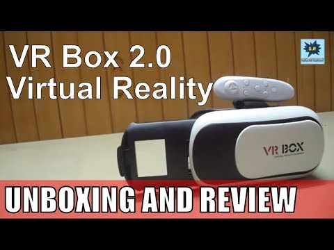Vr box unboxing and review   2nd Generation + Bluetooth controller  - Virtual Reality