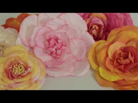 Hat Classes - Tinting Silk Flowers