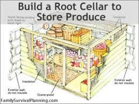 How to Build a Root Cellar in 7 Steps | Food Preservation