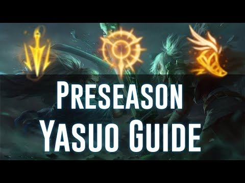 Preseason 8 Yasuo Guide | Best Rune Page | Highest Win Rate Build