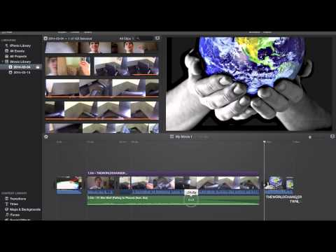 How to fade in audio and fade out audio in iMovie Mavericks