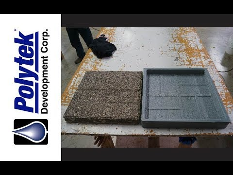 How to Make a Rubber Mold to Cast Concrete Pavers/Stepping Stones