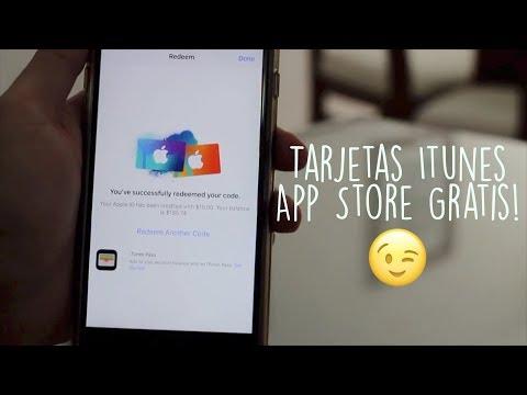 Códigos de Tarjetas iTunes/App Store sin Pagar
