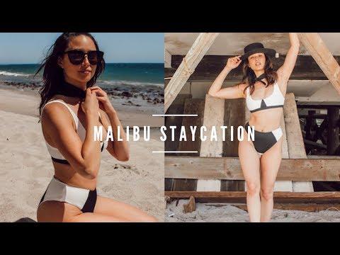 A Dang Good Vlog | Our Malibu Staycation | NoChella | Aja Dang