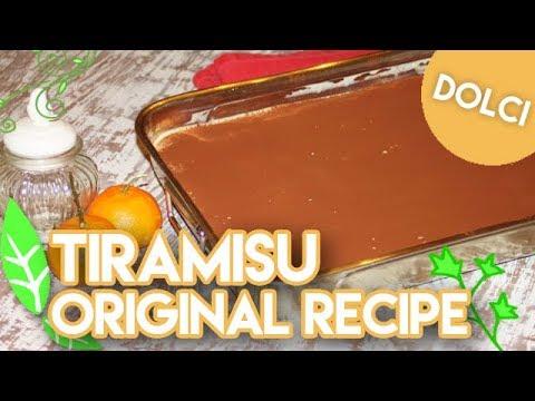 Tiramisú Italiano (Dessert RECIPE) English subtitles.