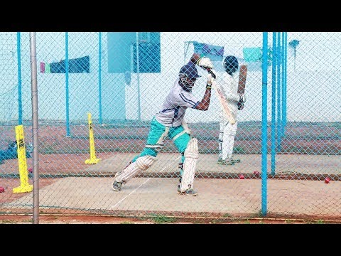Somashekhar Net Practice || Srmcf Cricket Academy Hyderabad - Cric Sports Online