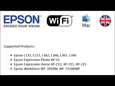 How to set-up Epson printers to use Wi-Fi 2014 (Mac EN)