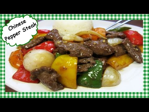 How To Make The Best Chinese Pepper Steak ~ Chinese Stir Fry Recipe
