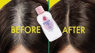 Apply it 1 Night // White Hair Turn To Jet Black Permanently (100% WORKING)