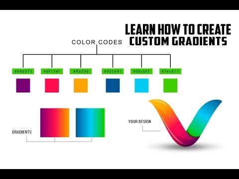 Illustrator Tutorial | Learn How to Make Custom Gradient