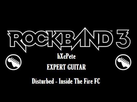 Disturbed - Inside The Fire Expert Guitar 100% FC