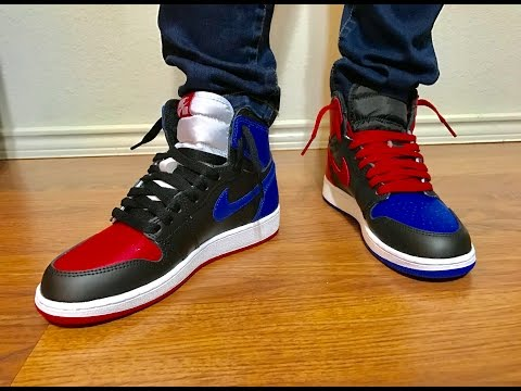 Wife's Jordan Retro 1 Top 3 unbox and on feet review