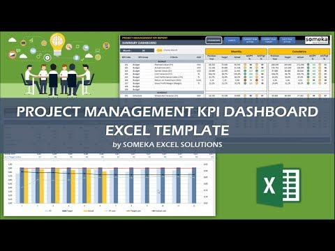 Project Management KPI Dashboard | Ready-To-Use Excel Template