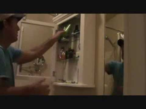 Tips when installing a bathroom medicine cabinet
