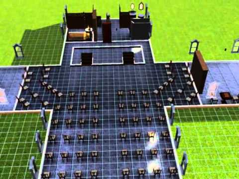 sims 3 special buildings 1 (church)
