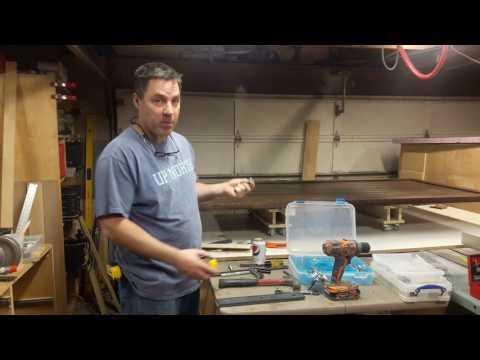 Building Double Barn Doors: Hangers