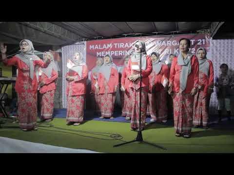 Indonesia Raya - Warga RT 21 Tlogo