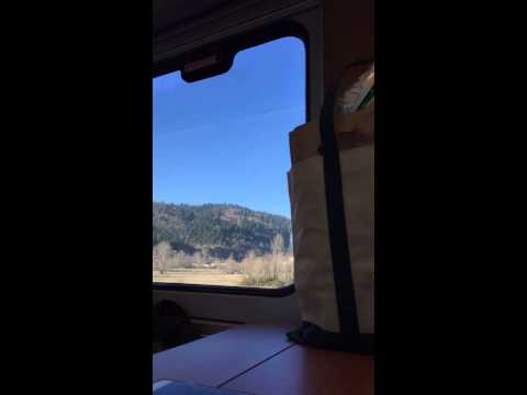 Time Lapse Amtrak 2014 Portland, OR - Vancouver, WA