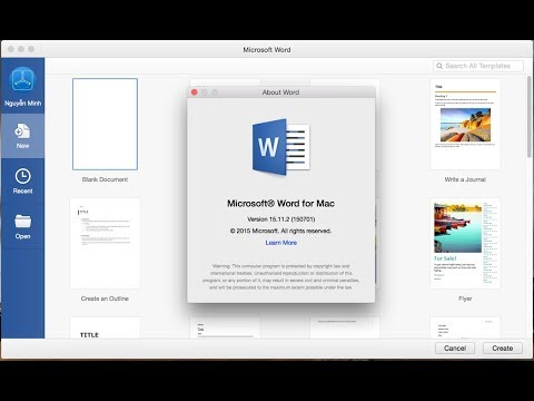 Download  Microsoft word application for Mac OS free!( product key) 2018 free