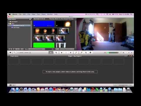 Using Action Movie FX with iMovie