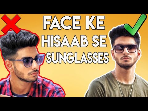 HOW to CHOOSE the BEST sunglasses for your face shape? | Indian men sunglasses guide