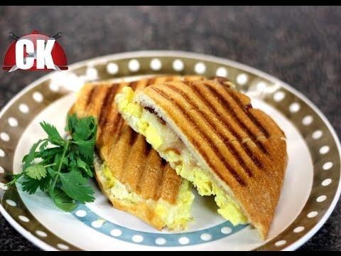 How to make a Breakfast Panini!