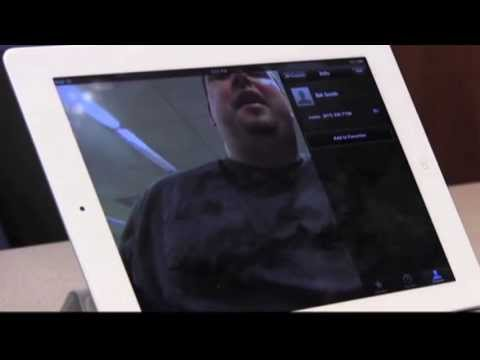Using Facetime on the iPad with VoiceOver