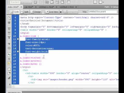 How To Create Ebay Store - Adding Css - Lesson9