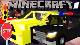 how to make a working car in minecraft pe