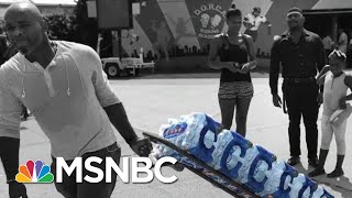 Newark Residents Forced To Face The Summer Heat To Pick Up Drinkable Water | The 11th Hour | MSNBC