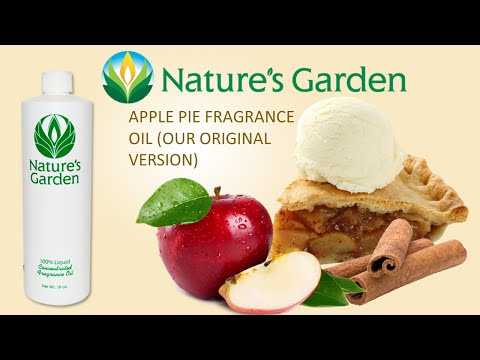 Apple Pie Original Fragrance Oil- Natures Garden
