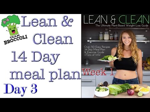 Lean & Clean 14 Day Meal Plan | Day 3 | Week 1